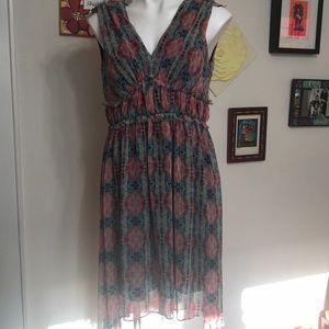 Taylor printed dress